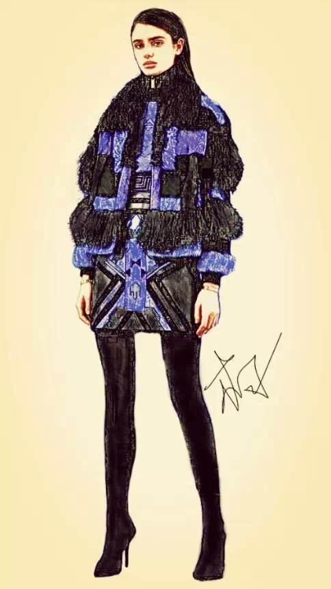 流苏-女装设计-服装设计