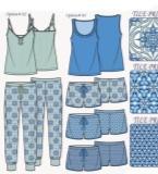 睡衣款式图搜集