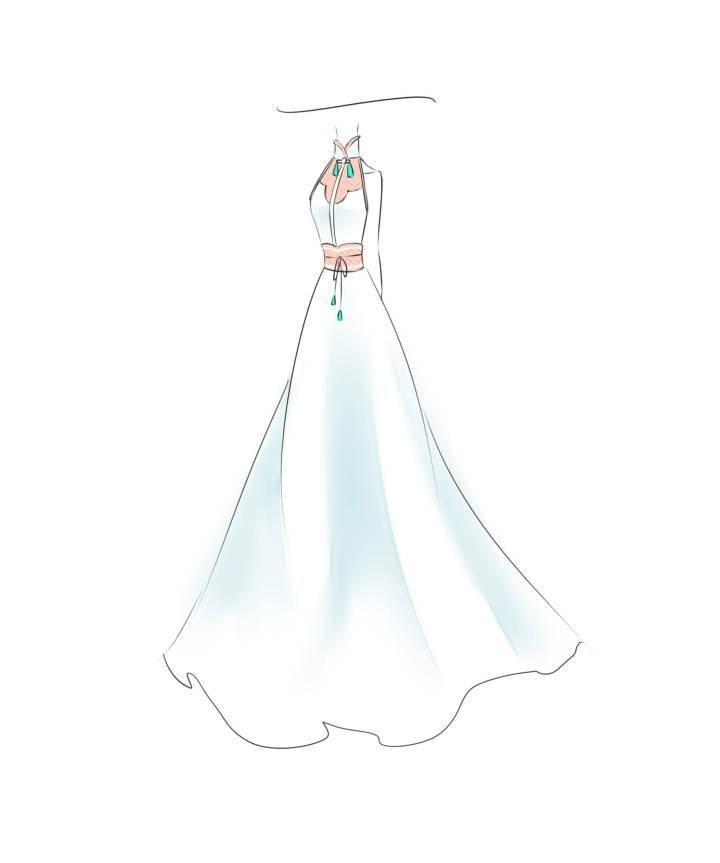 古风长裙-女装设计-服装设计