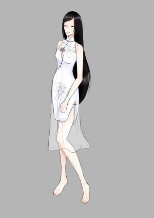 古风lo2-婚纱礼服设计-服装设计-服装设计网手机版|触