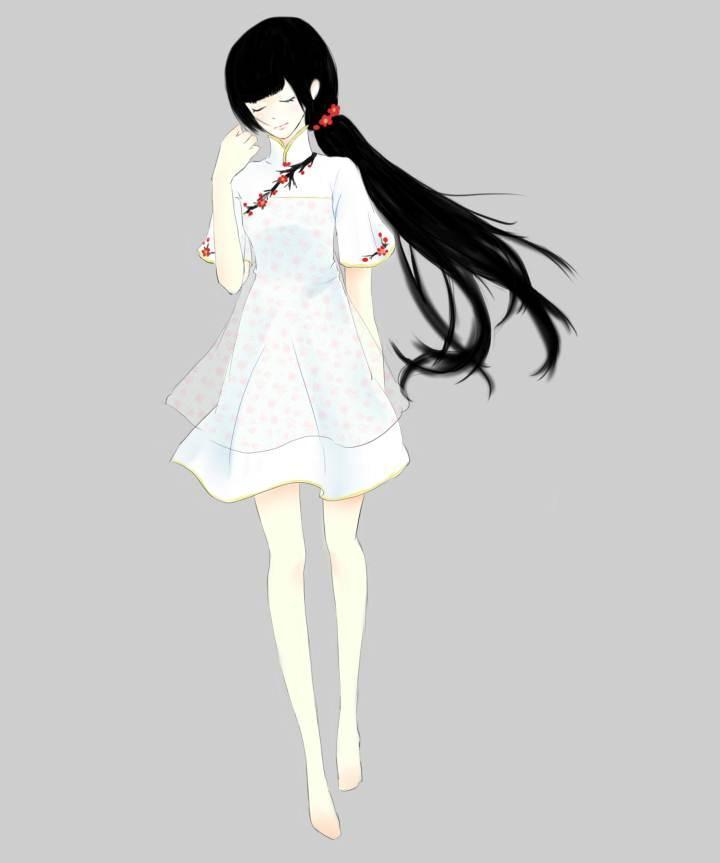 古风常装6-女装设计-服装设计