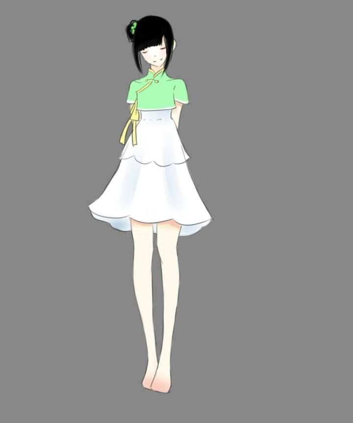 古风常装9-女装设计-服装设计