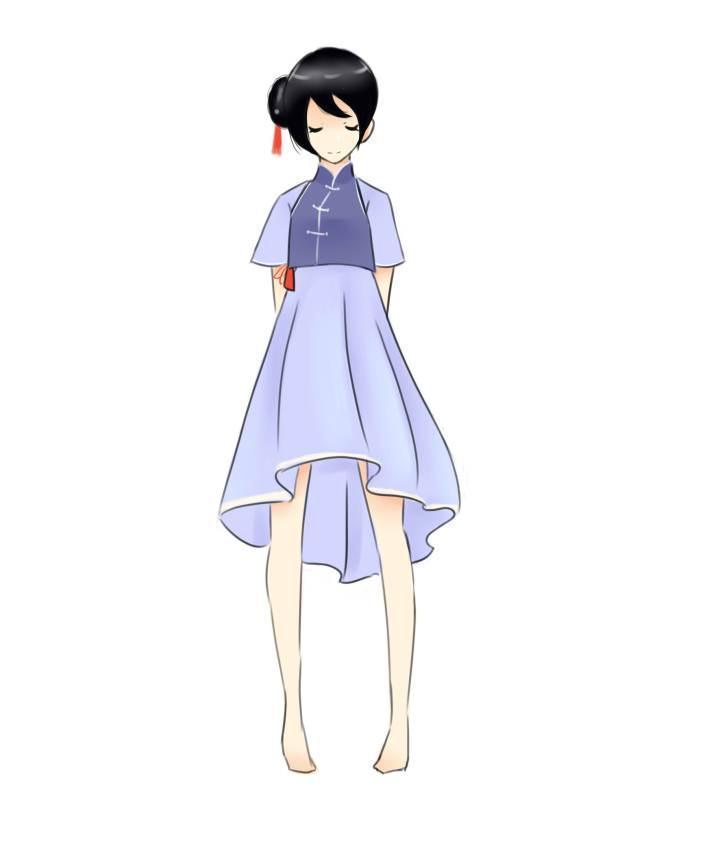 古风7-女装设计-服装设计