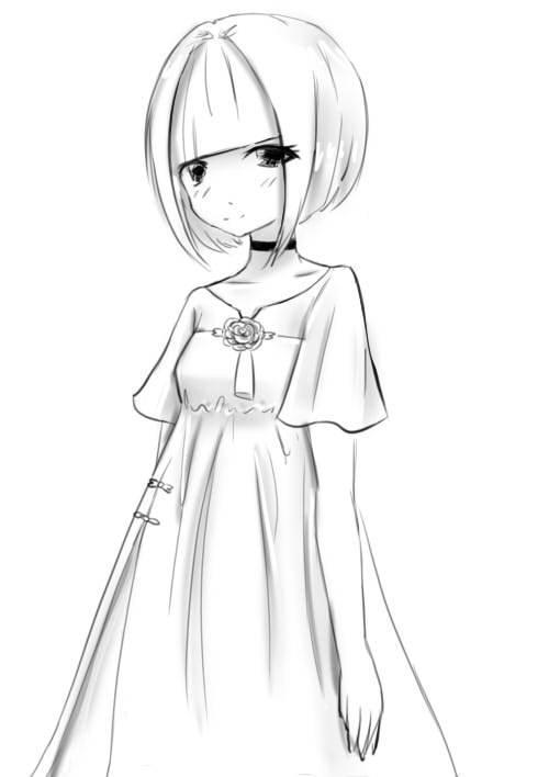 古风常装5-女装设计-服装设计