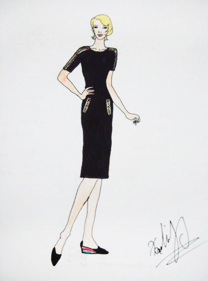 民族风1-女装设计-服装设计