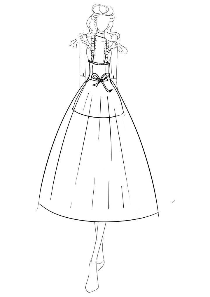 公主假日 原创-婚纱礼服设计-服装设计