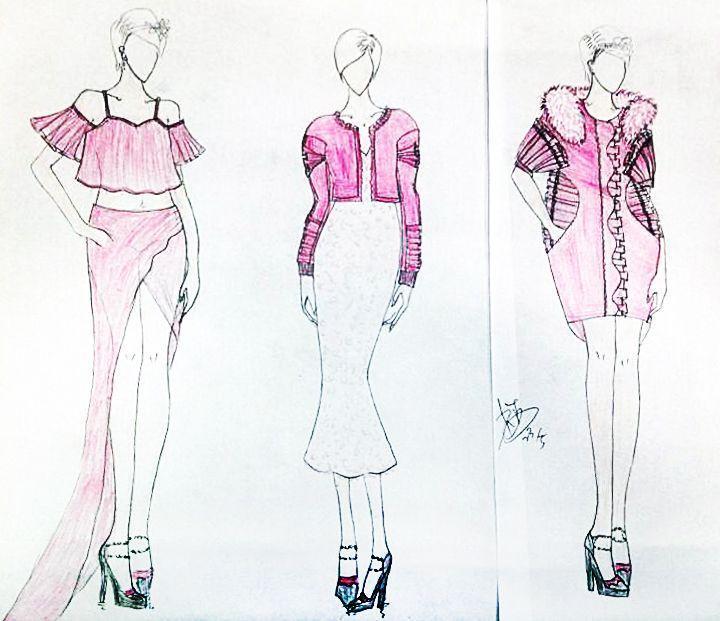 粉黛闺蜜-女装设计-服装设计