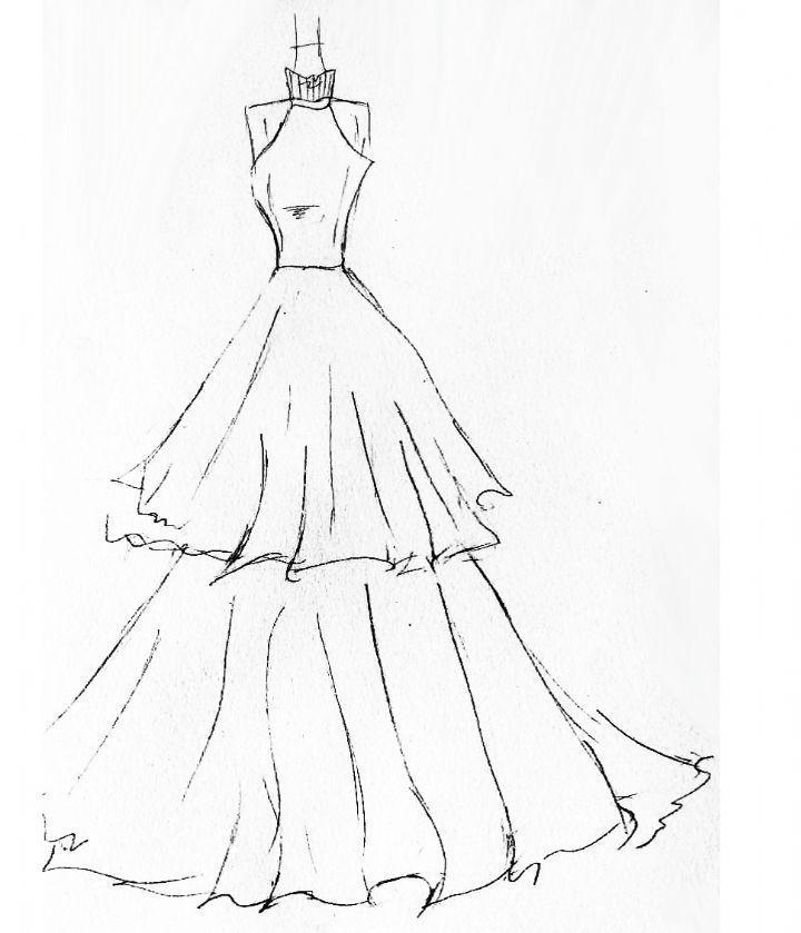 约定-婚纱礼服设计-服装设计