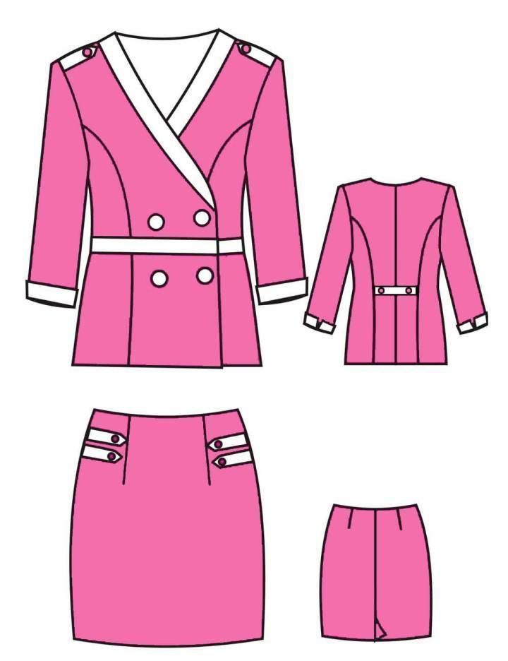 职业装-职业服装设计-服装设计
