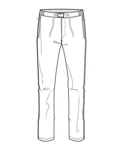 裤子简笔画步骤图片