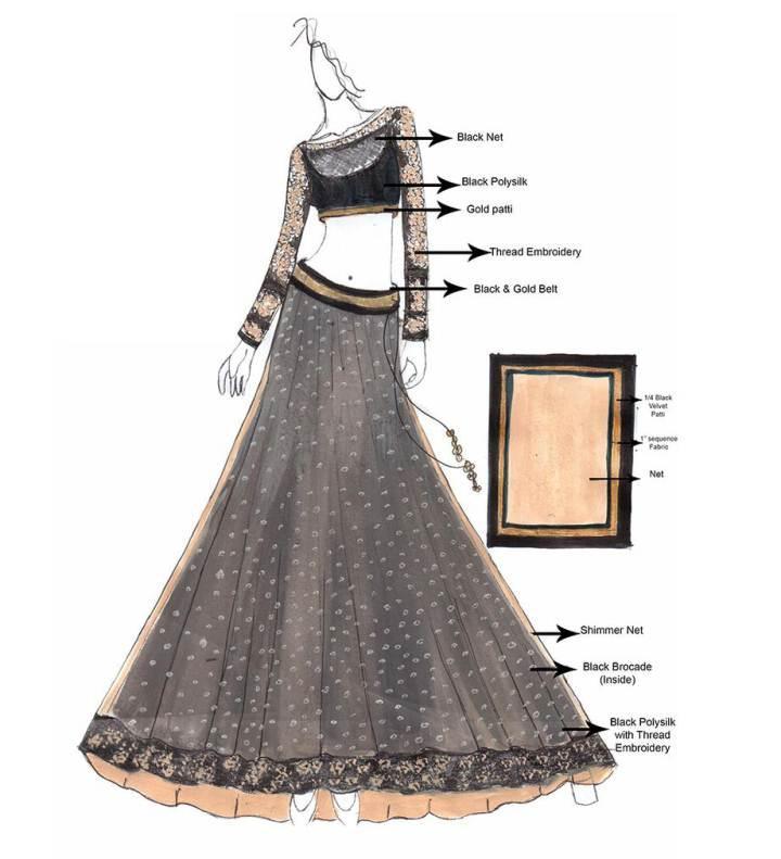 民族风-婚纱礼服设计-服装设计