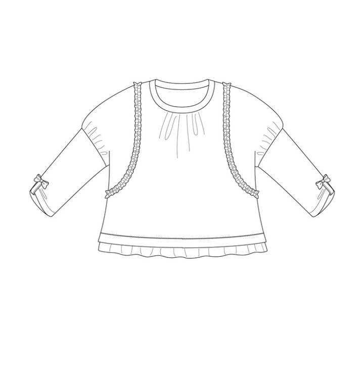 童装款式图-童装设计-服装设计