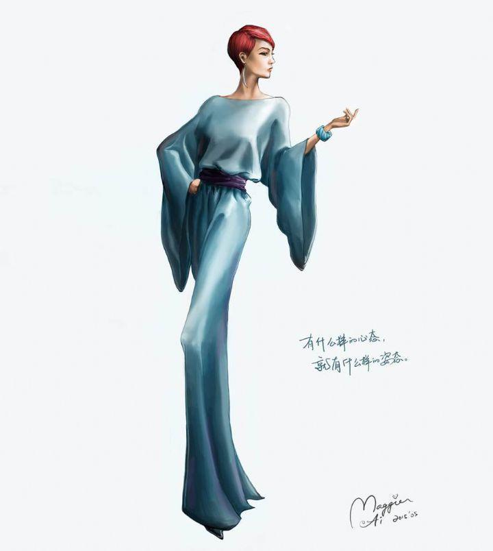 时装插画'05