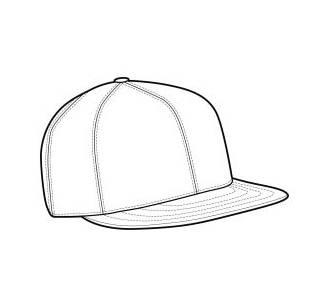 手绘圆帽子图片