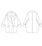 大衣款式图