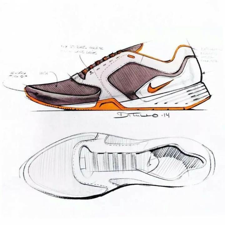 鞋履设计图稿搜集-鞋帽配饰设计-服装设计