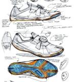 鞋履设计手稿搜集
