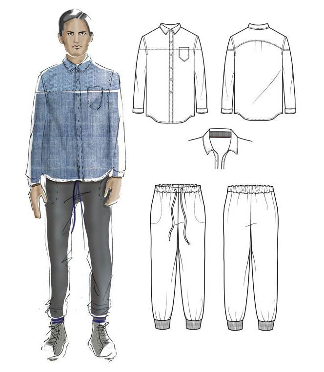 男士-男装设计-服装设计