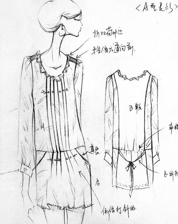 时装设计朱黎明