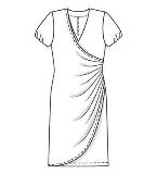 连衣裙款式图