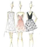 连衣裙手稿收集