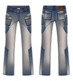 牛仔裤喇叭裤