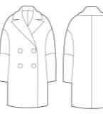 女装廓形大衣
