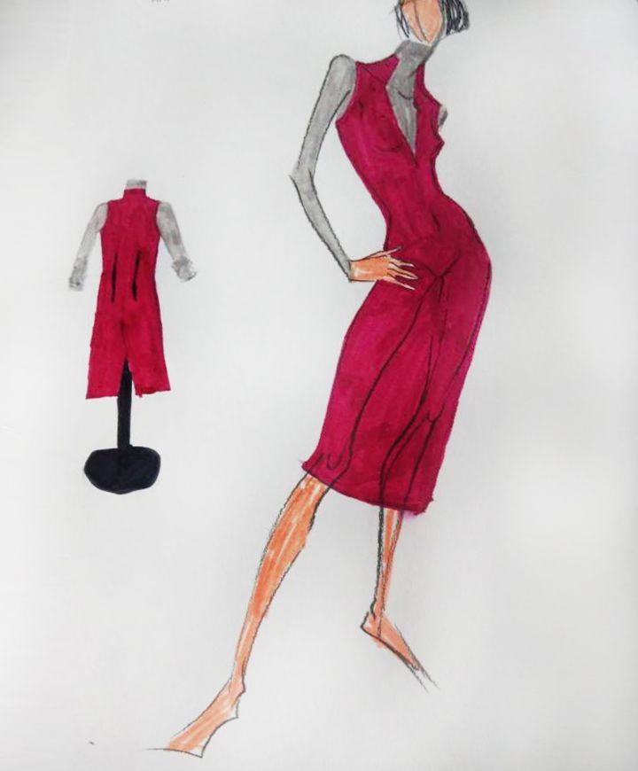 OL连衣裙