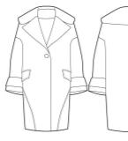 女大衣款式
