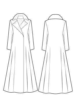 女大衣款式-女装设计-服装设计-服装设计网手机版 触