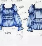 收腰雪纺上衣时尚女装