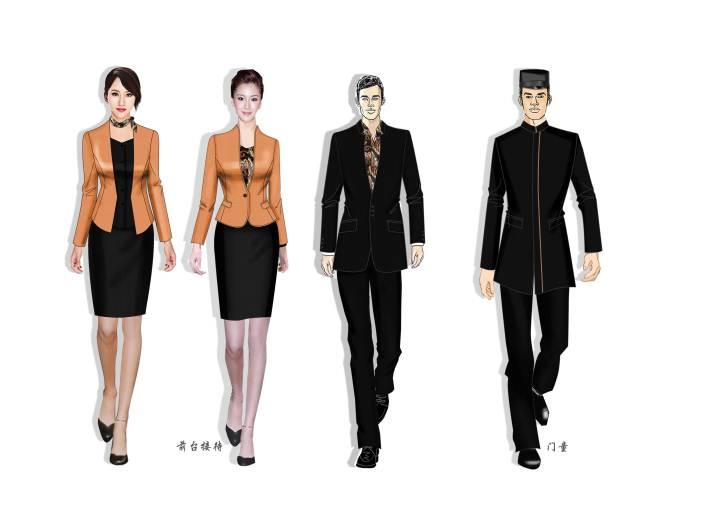 五星级酒店服装工作服
