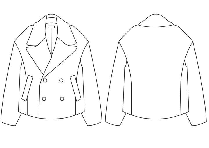 夹克-女装设计-服装设计