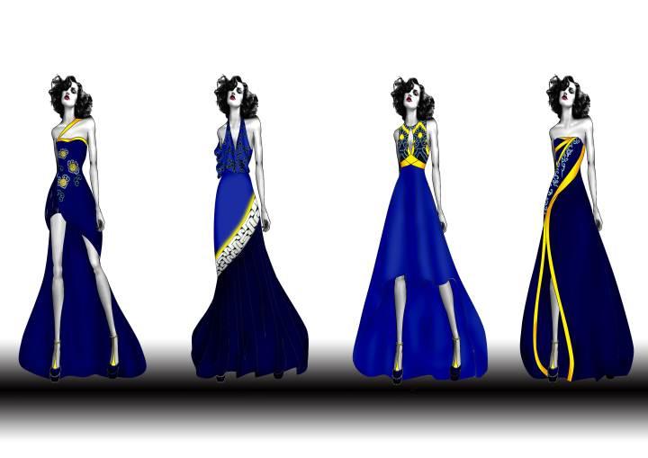 礼服设计-婚纱礼服设计-服装设计