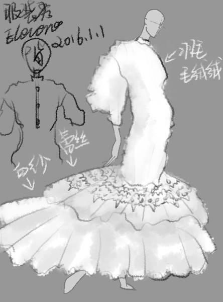 可爱婚纱卡通图片