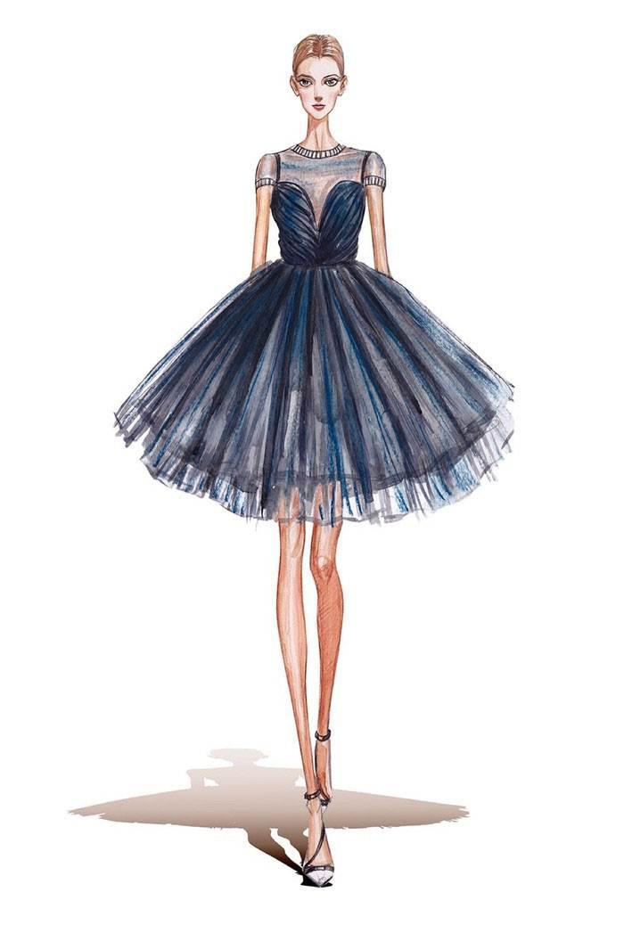 小礼服-婚纱礼服设计-服装设计