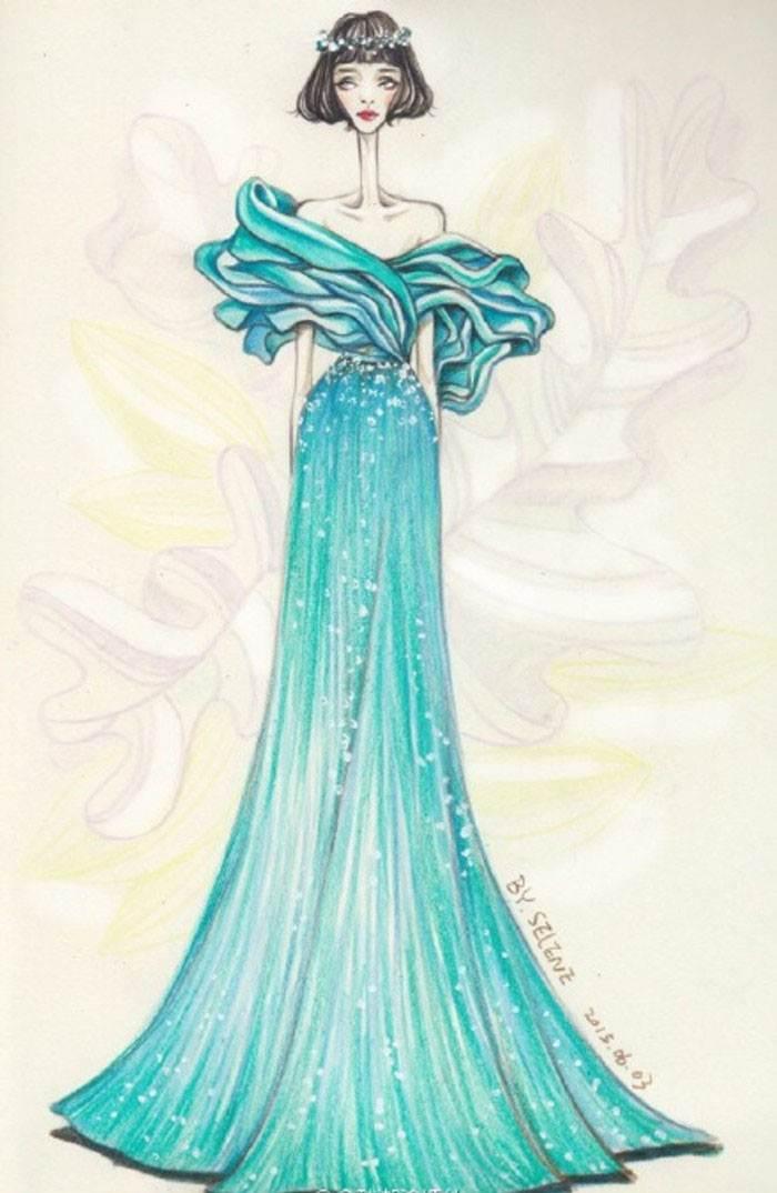 创意礼服-婚纱礼服设计-服装设计