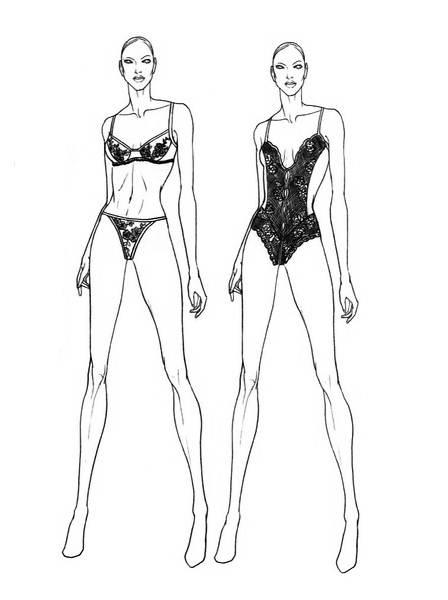 泳装-内衣/家居设计-服装设计