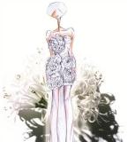 婚纱礼服手稿搜集