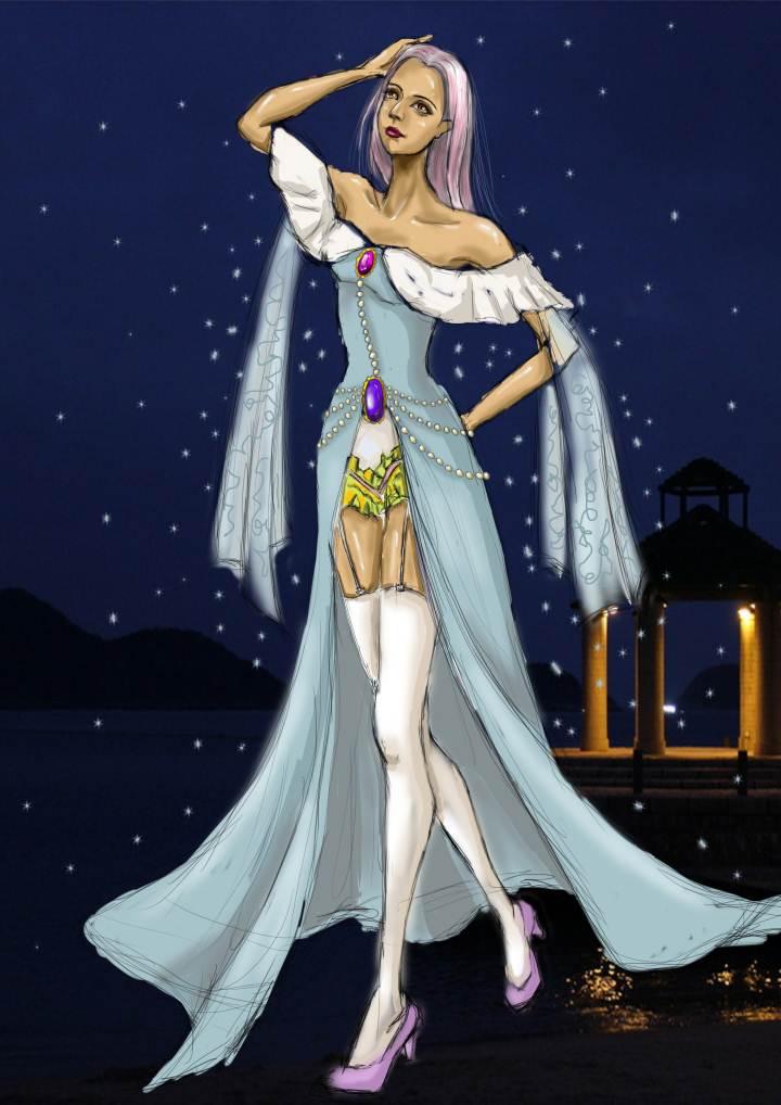 公主礼服-婚纱礼服设计-服装设计