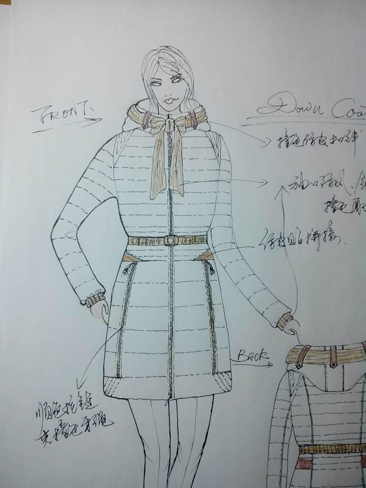 服装画面料素材