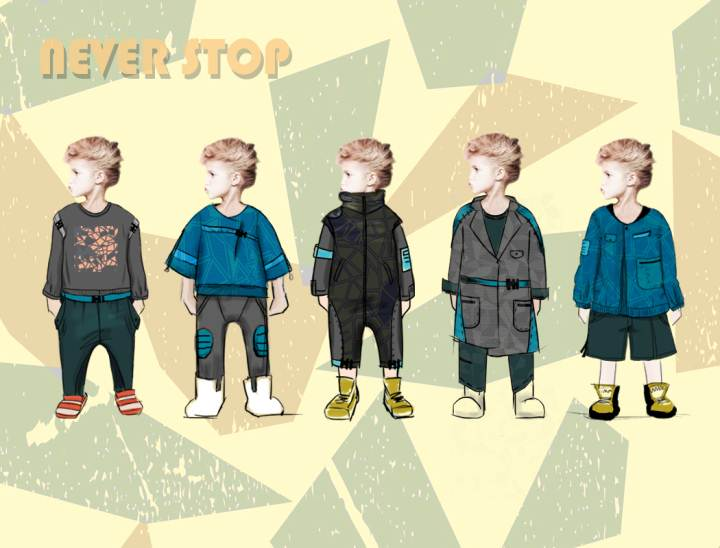 never stop作品-never stop款式图