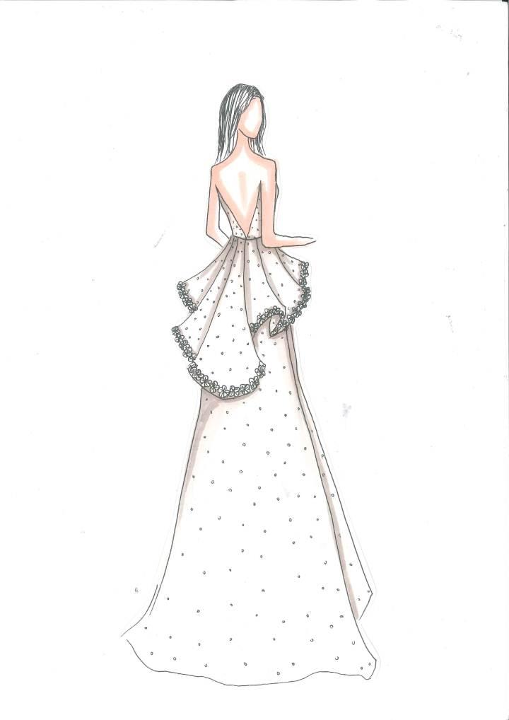 romantic-婚纱礼服设计-服装设计