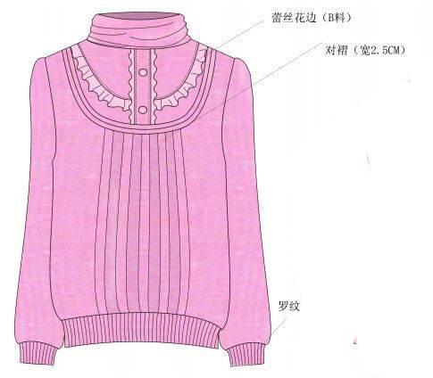 针织衫-毛衫针织设计-服装设计