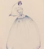 手绘以及婚纱礼服设计