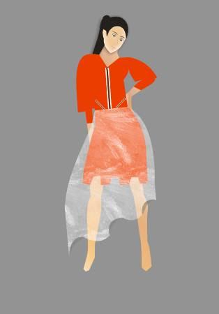 服装手绘图