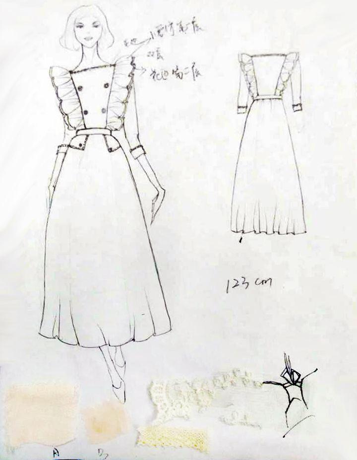 女装连衣裙-女装设计-服装设计