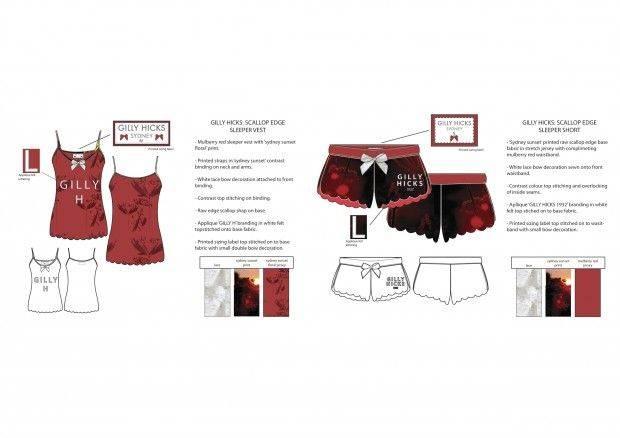 睡衣吊带作品-睡衣吊带款式图