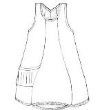 手绘背心裙