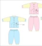 辛巴狗婴幼儿内衣款式图